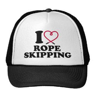 I love rope skipping trucker hat