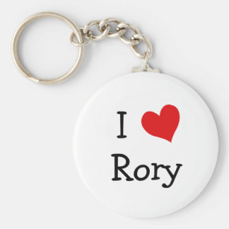 I Love Rory Keychain