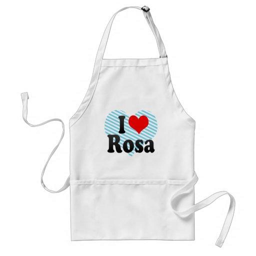I love Rosa Aprons