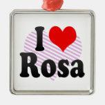 I love Rosa Christmas Tree Ornaments