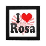 I love Rosa Trinket Box