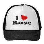 I Love Rose Trucker Hat