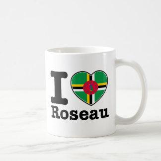 I love Roseau Classic White Coffee Mug