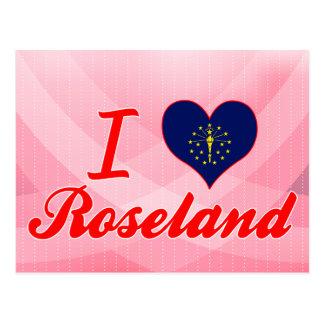 I Love Roseland, Indiana Postcards