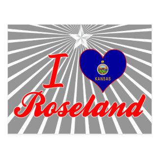I Love Roseland, Kansas Post Card
