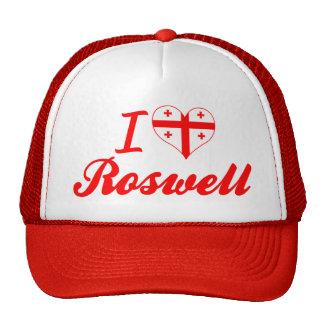 I Love Roswell, Georgia Trucker Hat