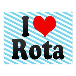 I Love Rota, Spain Postcard