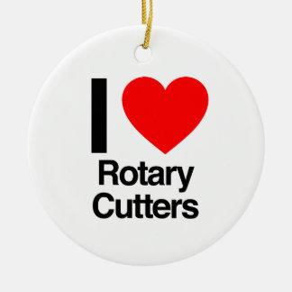 I love rotary cutters ceramic ornament