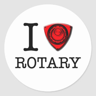 I love Rotary Engine Stickers