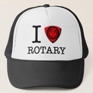 I love Rotary Trucker Hat