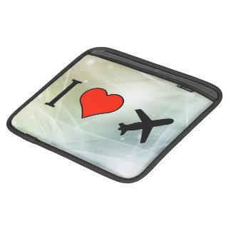 I Love Rotating Airplane Sleeves For iPads