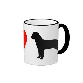 I Love Rottweilers Mug