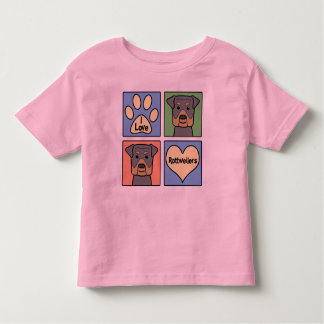 I Love Rottweilers Shirt