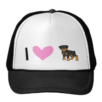 I Love Rottweilers Trucker Hat