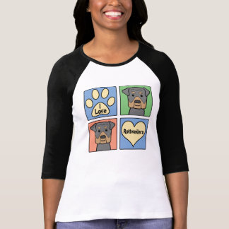I Love Rottweilers T-shirts