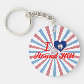 I Love Round Hill, Virginia Keychain