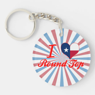 I Love Round Top, Texas Key Chains