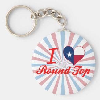 I Love Round Top, Texas Keychain