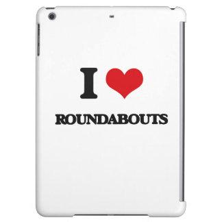 I love Roundabouts iPad Air Case