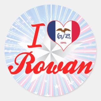 I Love Rowan Iowa Sticker