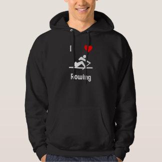 I Love Rowing (2) Hoody