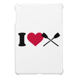 I love rowing oars iPad mini covers