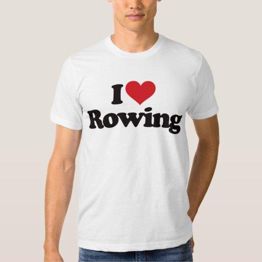 I Love Rowing T-Shirt