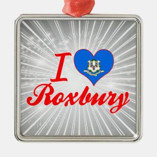 I Love Roxbury, Connecticut Christmas Tree Ornament