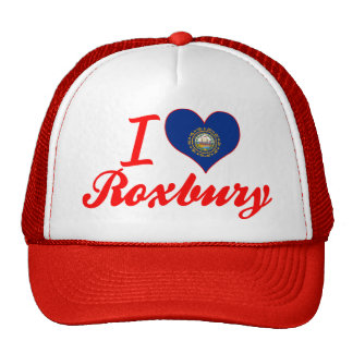 I Love Roxbury, New Hampshire Trucker Hat