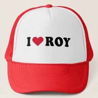 I LOVE ROY TRUCKER HAT