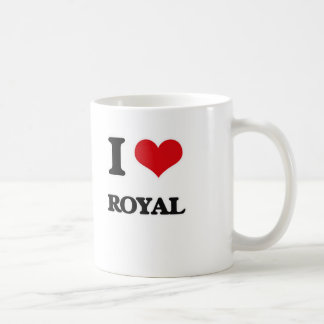 I Love Royal Coffee Mug
