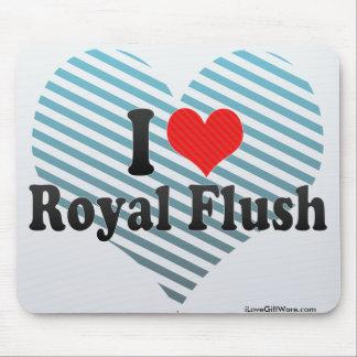 I Love Royal Flush Mouse Pad