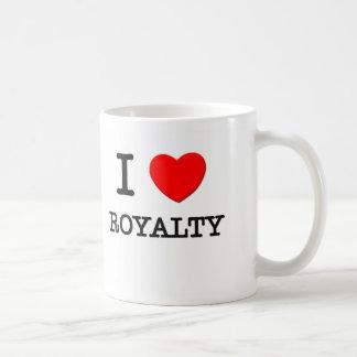 I Love Royalty Classic White Coffee Mug