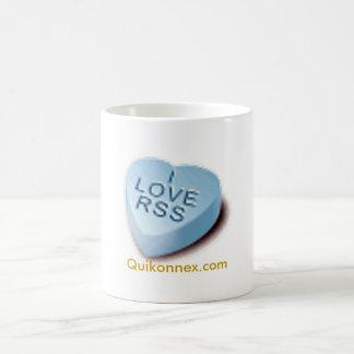 I Love RSS Quikonnex.com Coffee Mug