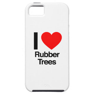 i love rubber trees iPhone 5 covers