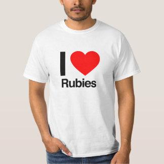 i love rubies T-Shirt