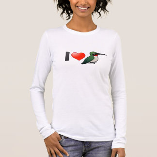 I Love Ruby-throats Long Sleeve T-Shirt