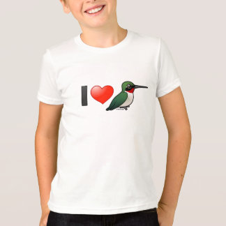 I Love Ruby-throats T-Shirt