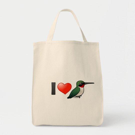 I Love Ruby-throats Tote Bag