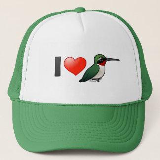 I Love Ruby-throats Trucker Hat