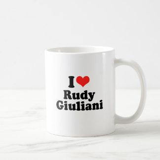 I Love Rudy Giuliani Classic White Coffee Mug