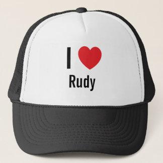 I love Rudy Trucker Hat