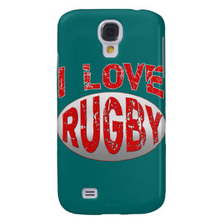 I Love Rugby , Apparel and Products Galaxy S4 Case