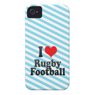 I love Rugby Football Blackberry Bold Covers