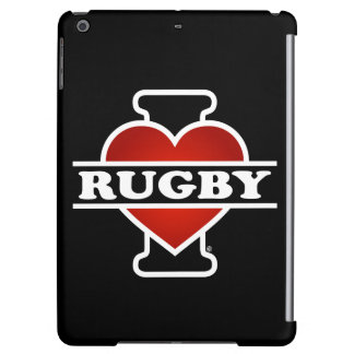 I Love Rugby iPad Air Covers