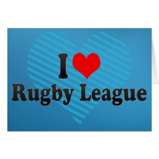 I love Rugby League Cards