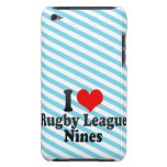 I love Rugby League Nines Barely There iPod Case