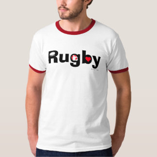 I Love Rugby T-Shirt 2
