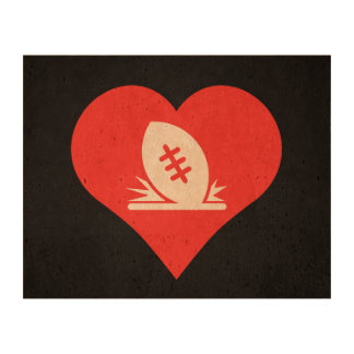 I Love Rugby Tries Cool Symbol Cork Paper Prints