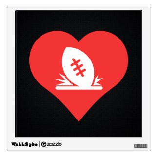 I Love Rugby Tries Cool Symbol Room Graphics